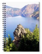 Crater Lake 4 Spiral Notebook