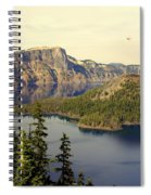 Crater Lake 6 Spiral Notebook