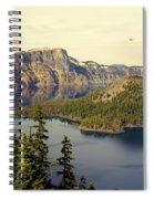 Crater Lake 6 Spiral Notebook