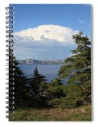 Crater Lake 8 Spiral Notebook