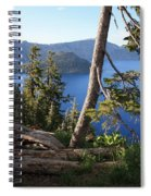 Crater Lake 9 Spiral Notebook