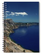 Crater Lake A Caldera Lake  Spiral Notebook