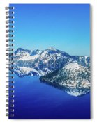Crater Lake Blue Spiral Notebook
