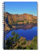 Crater Lake Morning Reflections Spiral Notebook