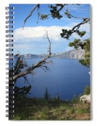 Crater Lake Perspective Spiral Notebook