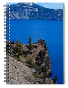 Crater Lake Point Overlook Spiral Notebook