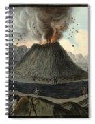 Crater Of Mount Vesuvius, Before 1767 Spiral Notebook