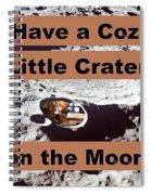 Crater1 Spiral Notebook