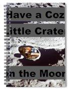 Crater14 Spiral Notebook