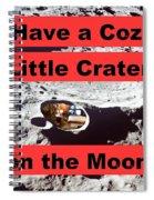 Crater15 Spiral Notebook