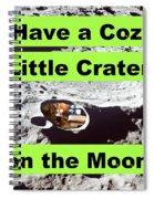 Crater18 Spiral Notebook