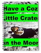 Crater19 Spiral Notebook