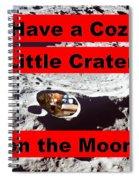 Crater2 Spiral Notebook