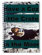 Crater28 Spiral Notebook