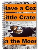 Crater3 Spiral Notebook