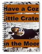 Crater34 Spiral Notebook