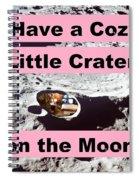 Crater38 Spiral Notebook