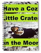 Crater39 Spiral Notebook
