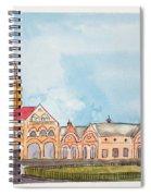 Crawford Market Mumbai Spiral Notebook