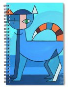 Crazy Cat Spiral Notebook