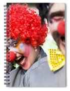 Crazy Circus Clowns Spiral Notebook