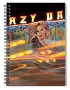 Crazy Dance Spiral Notebook