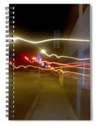 Crazy Duke Street Lights Spiral Notebook