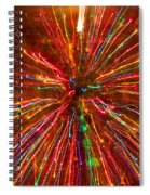 Crazy Fun Colorful Abstract Spiral Notebook