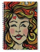 Crazy Hair Spiral Notebook