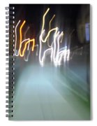 Crazy Lights Spiral Notebook