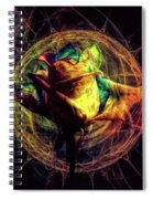 Crazy Rose Spiral Notebook