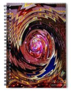 Crazy Swirl Art Spiral Notebook