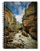 Crazy Woman Canyon Spiral Notebook