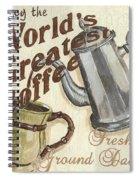 Cream Coffee 1 Spiral Notebook