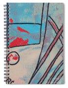 Cream Colored Door Spiral Notebook