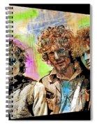 Cream Spiral Notebook