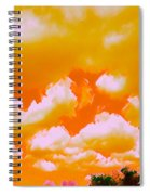 Creamsicle Sky Spiral Notebook