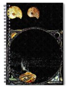 Creation Of Water Spiral Notebook