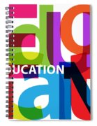 Creative Title - Education Spiral Notebook