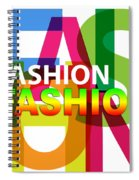 Creative Title - Fashion Spiral Notebook