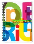Creative Title - Opportunity Spiral Notebook