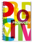 Creative Title - Productivity Spiral Notebook