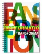 Creative Title - Transformation Spiral Notebook