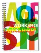 Creative Title - Workshop Spiral Notebook