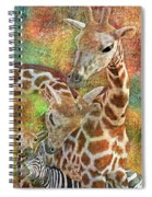 Creatures Great And Small Spiral Notebook