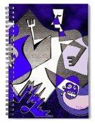 Creatures Wake Spiral Notebook