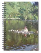 Credit River By Norval On Spiral Notebook
