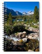 Creek At Heart Lake Spiral Notebook