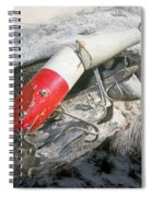 Creek Chub Pikie Redhead Jointed Vintage Wooden Fishing Lure Spiral Notebook