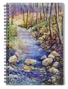 Creek Crossing Spiral Notebook